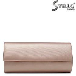 Бална дамска чанта в цвят мед - 32257