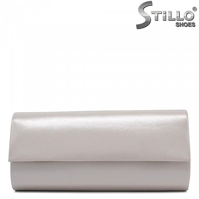 Чанта клъч в перлено бежово - 32262