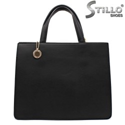 Дамска елегантна черна чанта - 32350