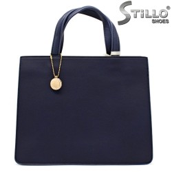 Синя дамска чанта - 32352