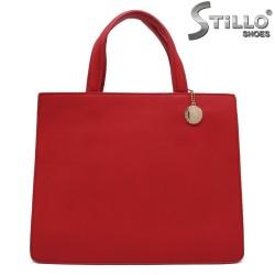 Червена дамска чанта - 32355