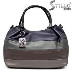 Стилна дамска чанта в четири цвята - 34155