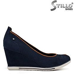 Сини обувки MARCO TOZZI на платформа - 34241