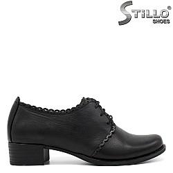 Дамски обувки на нисък ток - 34290
