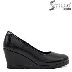 Обувки на клин ток - 34297