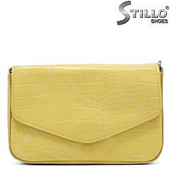 Малка чантичка в лимоново жълто - 34344
