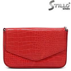 Кокетна малка чанта в червено - 34345