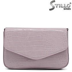Малка дамска чанта в лилав цвят - 34347