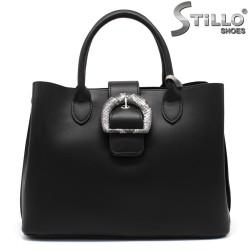Черна дамска чанта - 34349