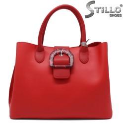 Червена дамска чанта - 34350