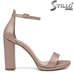 Официални сандали на висок ток - 34360