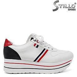 Дамски обувки на платформа десен TOMMY - 34407