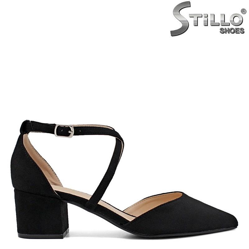 Отворени  обувки  на ток - 34412