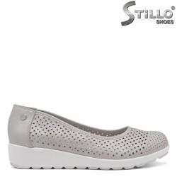 Перфорирани ежедневни обувки на дебело ходило - 34440