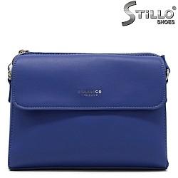 Синя дамска чанта - 34473