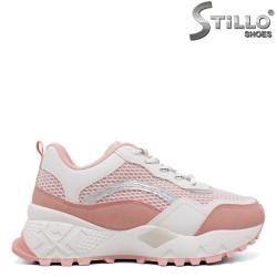 Розови маратонки на дебело бяло ходило - 34522