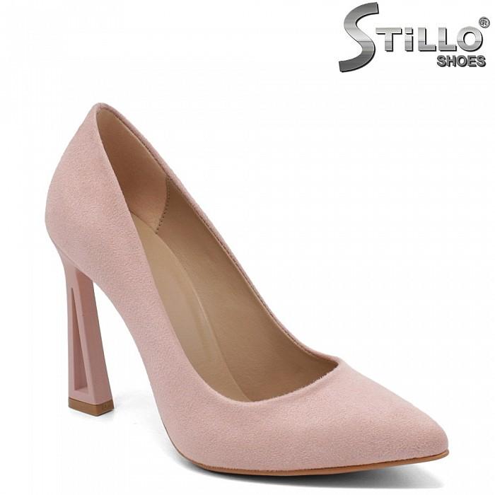 Модерни обувки в розово -34613
