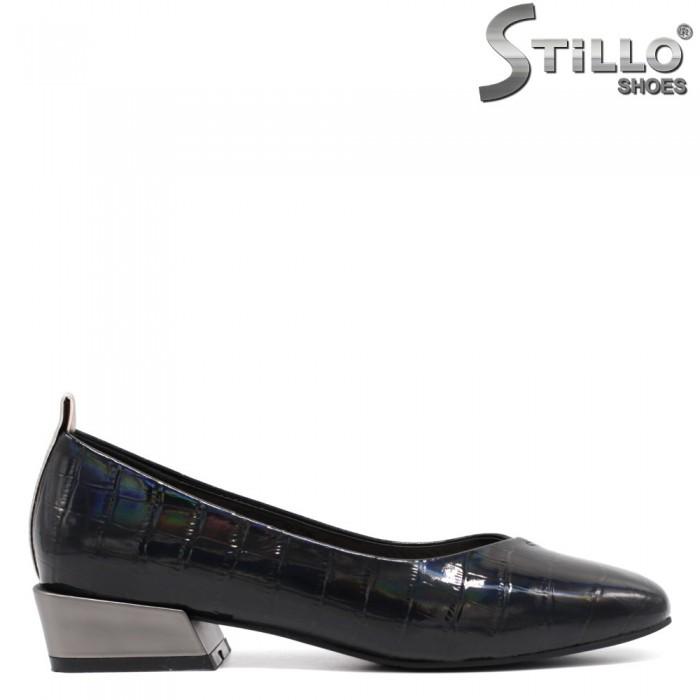 Ежедневни обувки на нисък метален ток - 34680