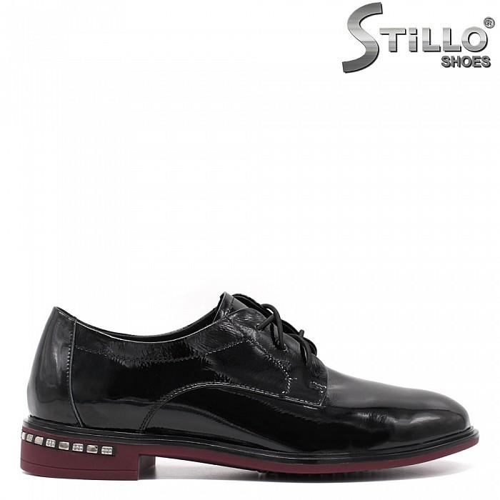 РАЗМЕР 33,34,35 Дамски обувки  с връзки - 34683