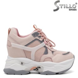 Сникърси в розово и сиво - 34693