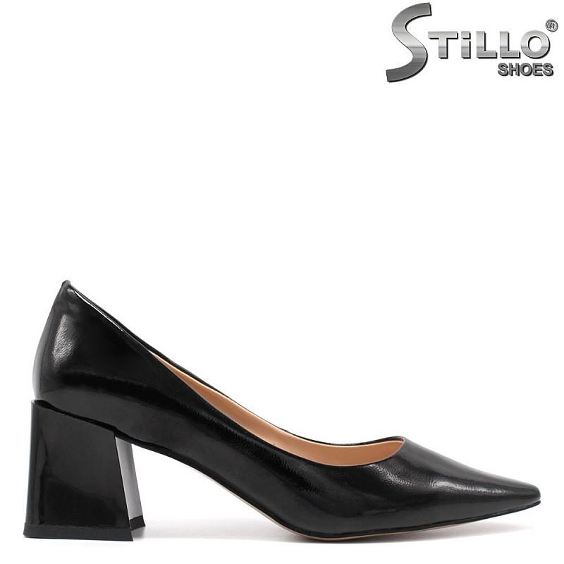 Официални обувки на среден ток - 34740
