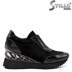 Спортни  обувки на платформа - 34741