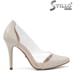 Модни обувки на висок ток със силикон - 34804