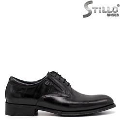 Мъжки официални обувки в черна кожа - 34875