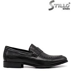 Мъжки обувки с декоративна перфорация - 34880