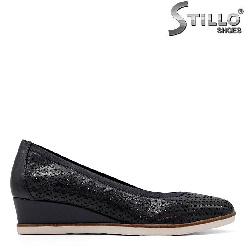 Tamaris перфорирани обувки на холандски ток - 34909