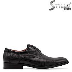 Мъжки обувки от естествена кожа - 34962