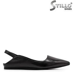 Модни дамски обувки с отворена пета - 34976