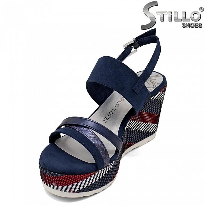 Marco Tozzi сандали на висока платформа - 35112