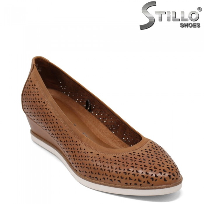 Tamaris дамски обувки на клин ток - 35133