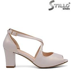 Дамски сандали на ток - 35149
