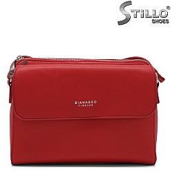Червена малка чанта за през рамо - 34475