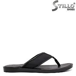 Ежедневни мъжки чехли естествена кожа - 35170