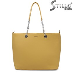 Жълта дамска чанта Chantal - 35198