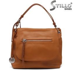 Кафява дамска чанта - 35214