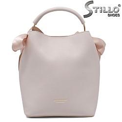 Дамска розова чантичка бонбон - 35216