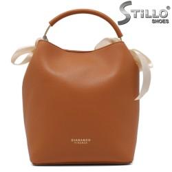 Кафява дамска чанта - 35221