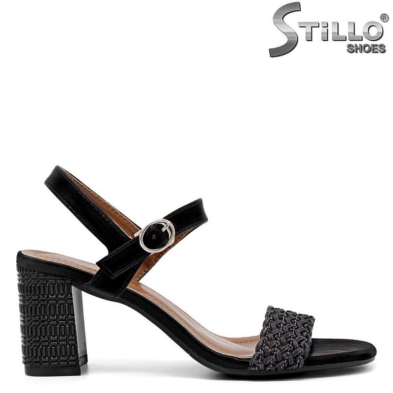 Елегантни сандали на висок ток - 35259