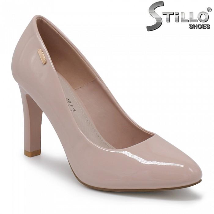 Лачени обувки на висок ток – 35436