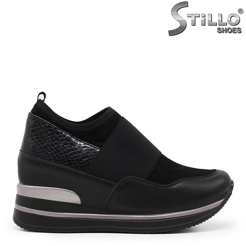 Спортни обувки на скрита платформа– 35454