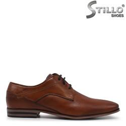 Кафяви мъжки обувки Bugatti - 35466