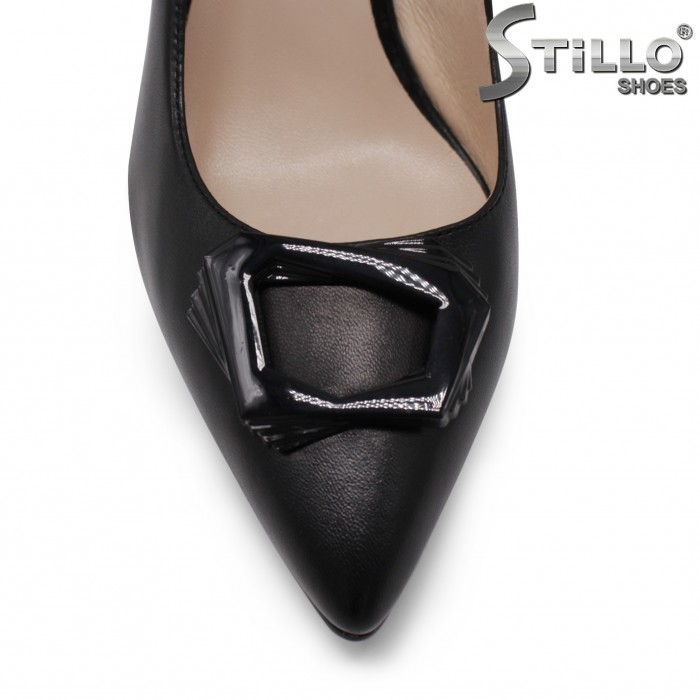 Официални обувки на висок ток с катарама– 35468