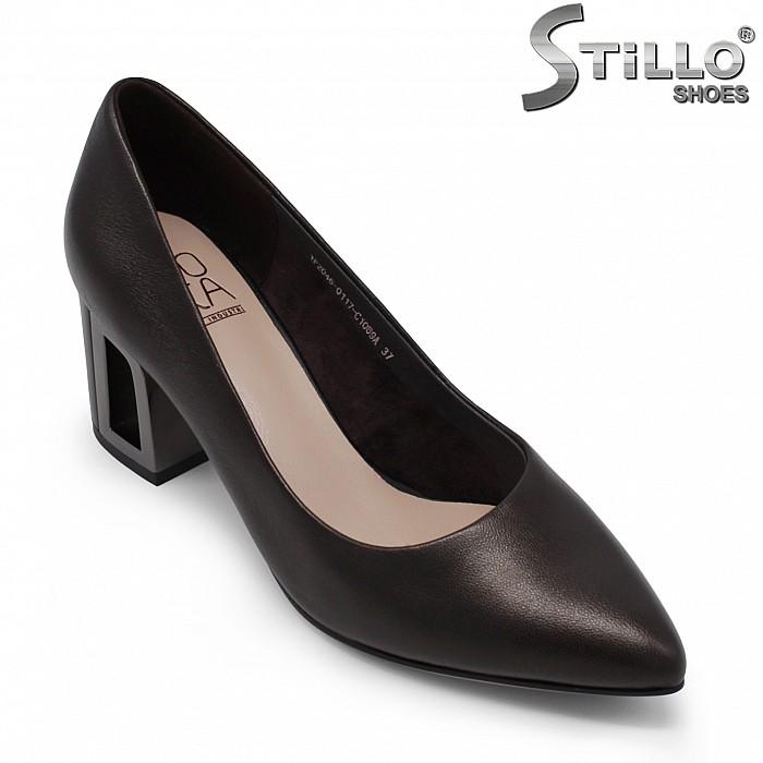 Дамски обувки с моден ток – 35469