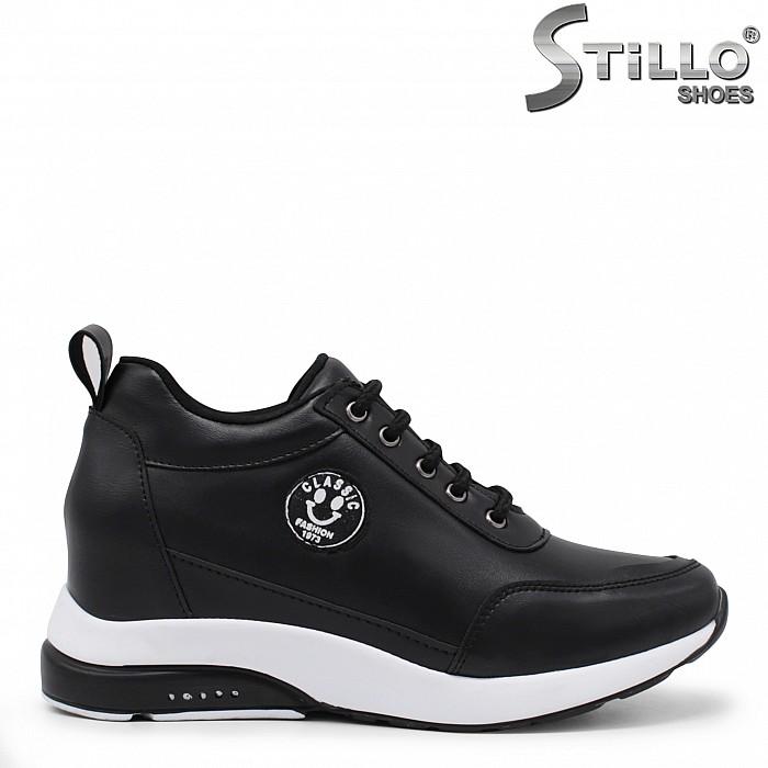 Спортни обувки със скрита платформа -35515