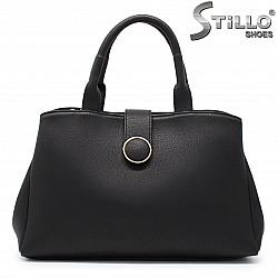 Черна дамска чанта  - 35762