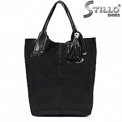 Дамска чанта от естествен велур – 35857